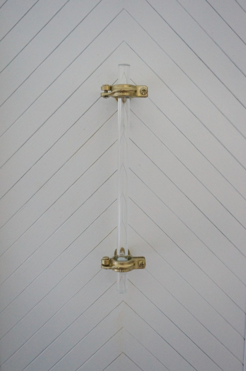 DIY Lucite Hardware - HomeWork Design Co.