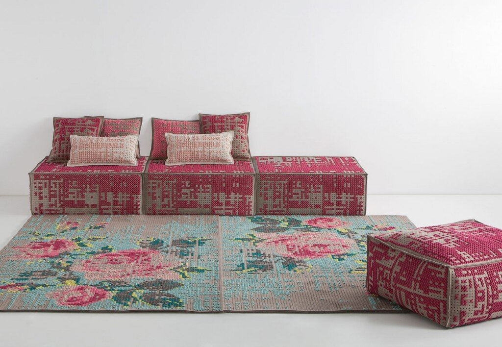 New Collection Of Rugs Pouffes And Cushions By Charlotte