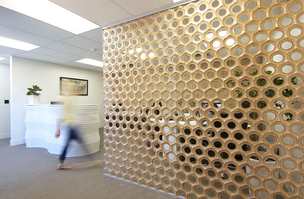 Natura Collection Texture Panels And Dividers Inspired By Organic Lines