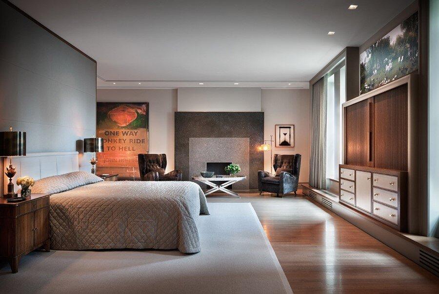 New York Penthouse Loft Displays A Beautiful Collection Of Art