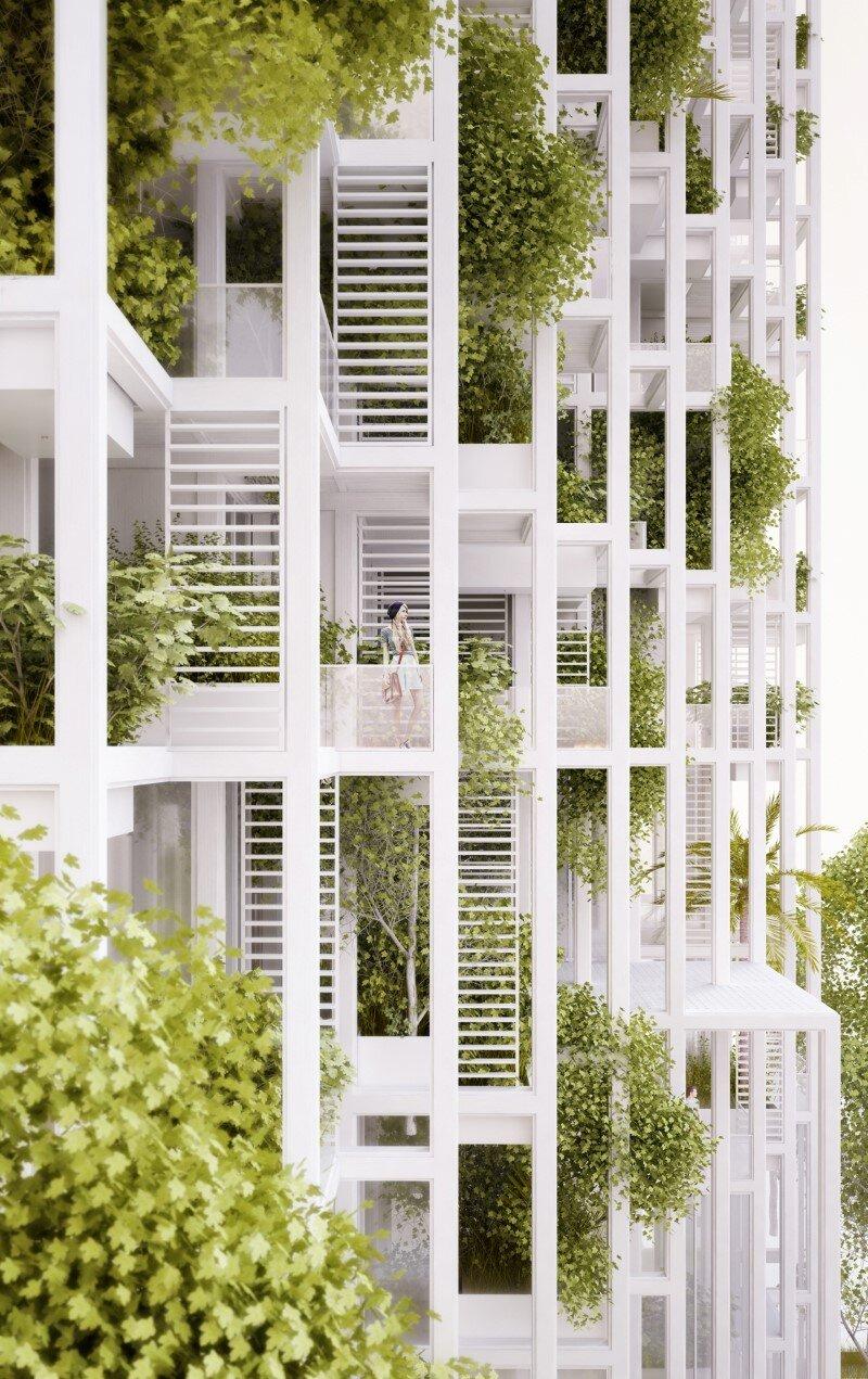 Vijayawada Garden Estate Innovative Architecture With