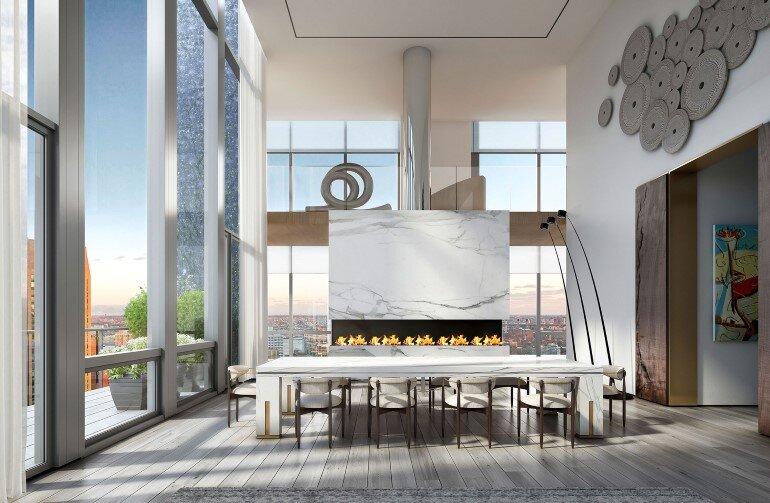 Madison Avenue Penthouse By ODA Architecture
