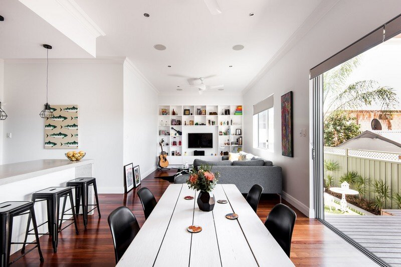 Old Maylands Cottage Turned Into A Mid Century Modern Home