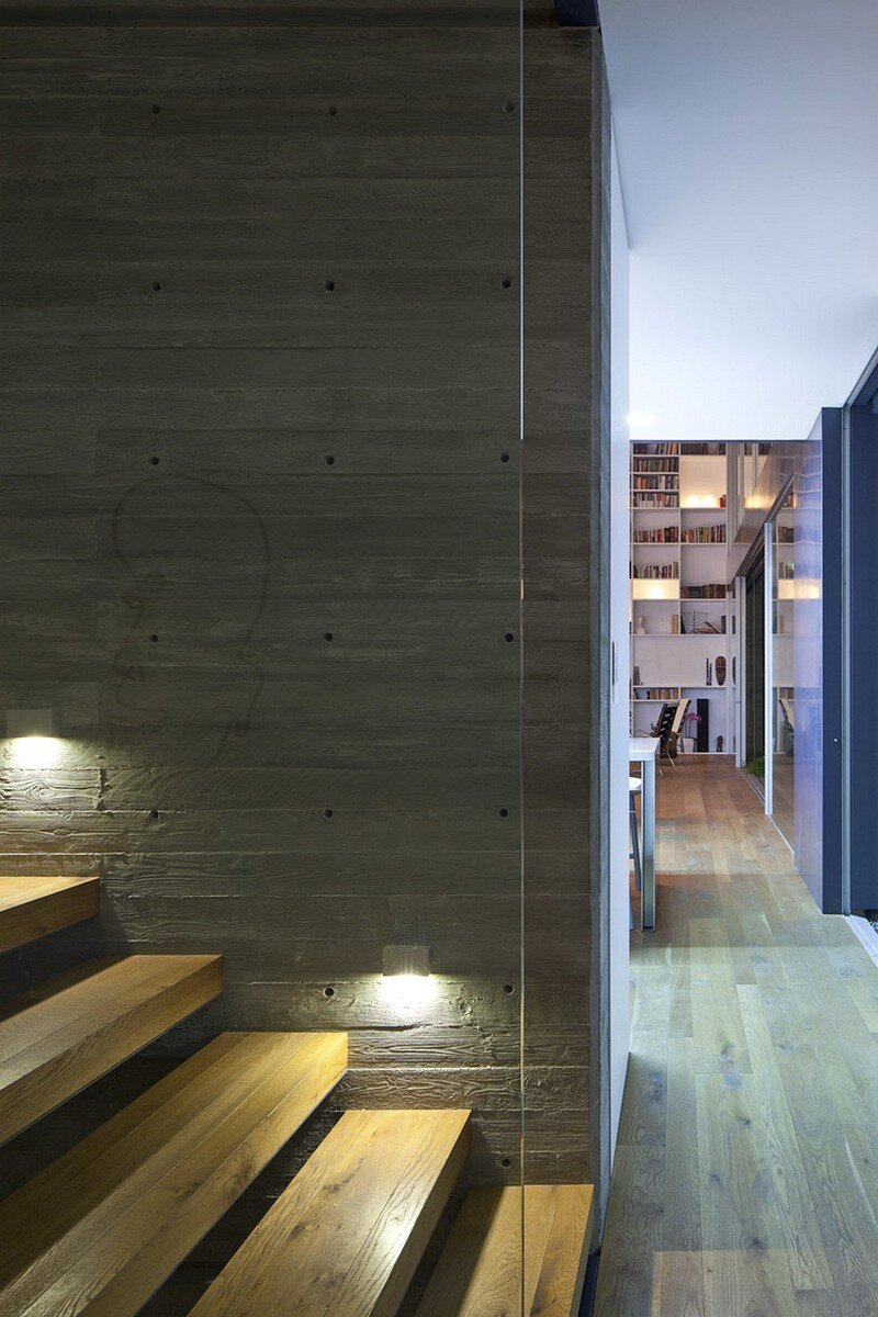 Modern Concrete House By Anderman Architects