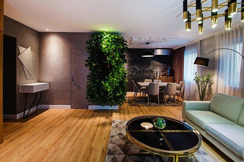 An Elegant Contemporary Style Apartment Creativ Interior