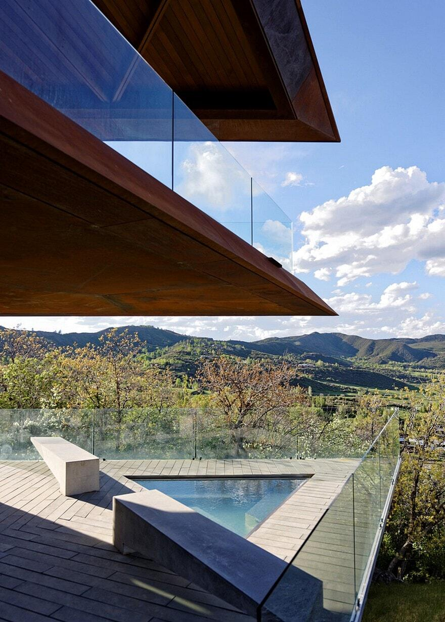 Owl Creek Residence In Colorado Skylab Architecture