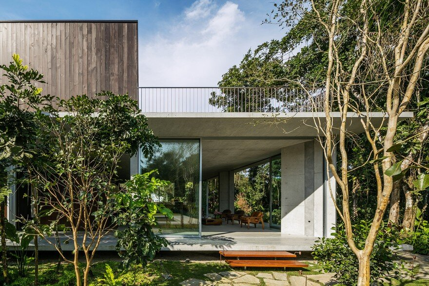 Itamambuca Beach House Surrounded By A Dense And Rich