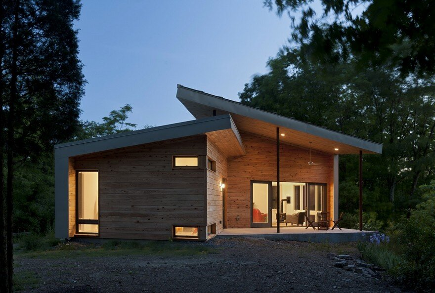 Mid Lake House Modern Architecture Century