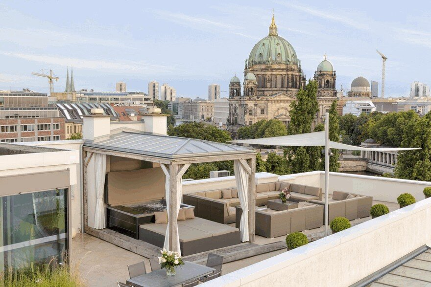 Monbijou Penthouse In Berlin Mitte Germany
