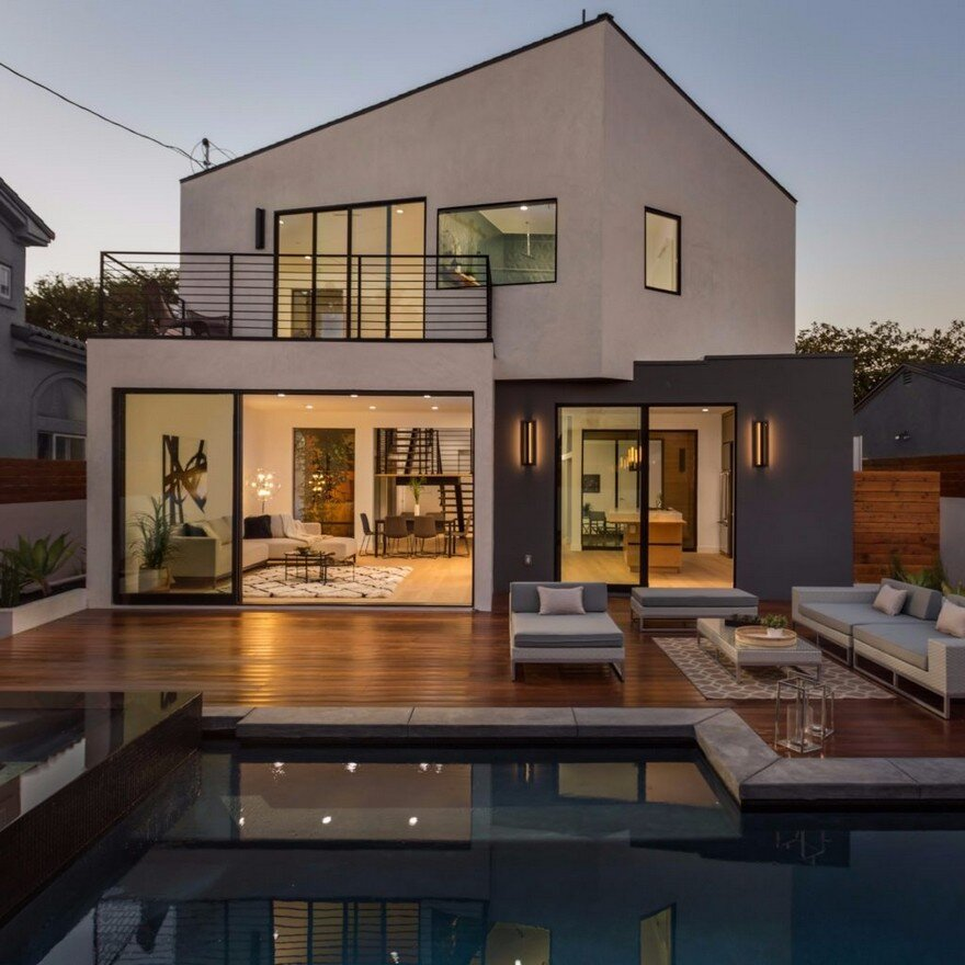 Admiral House In Los Angeles Featuring Contemporary Design