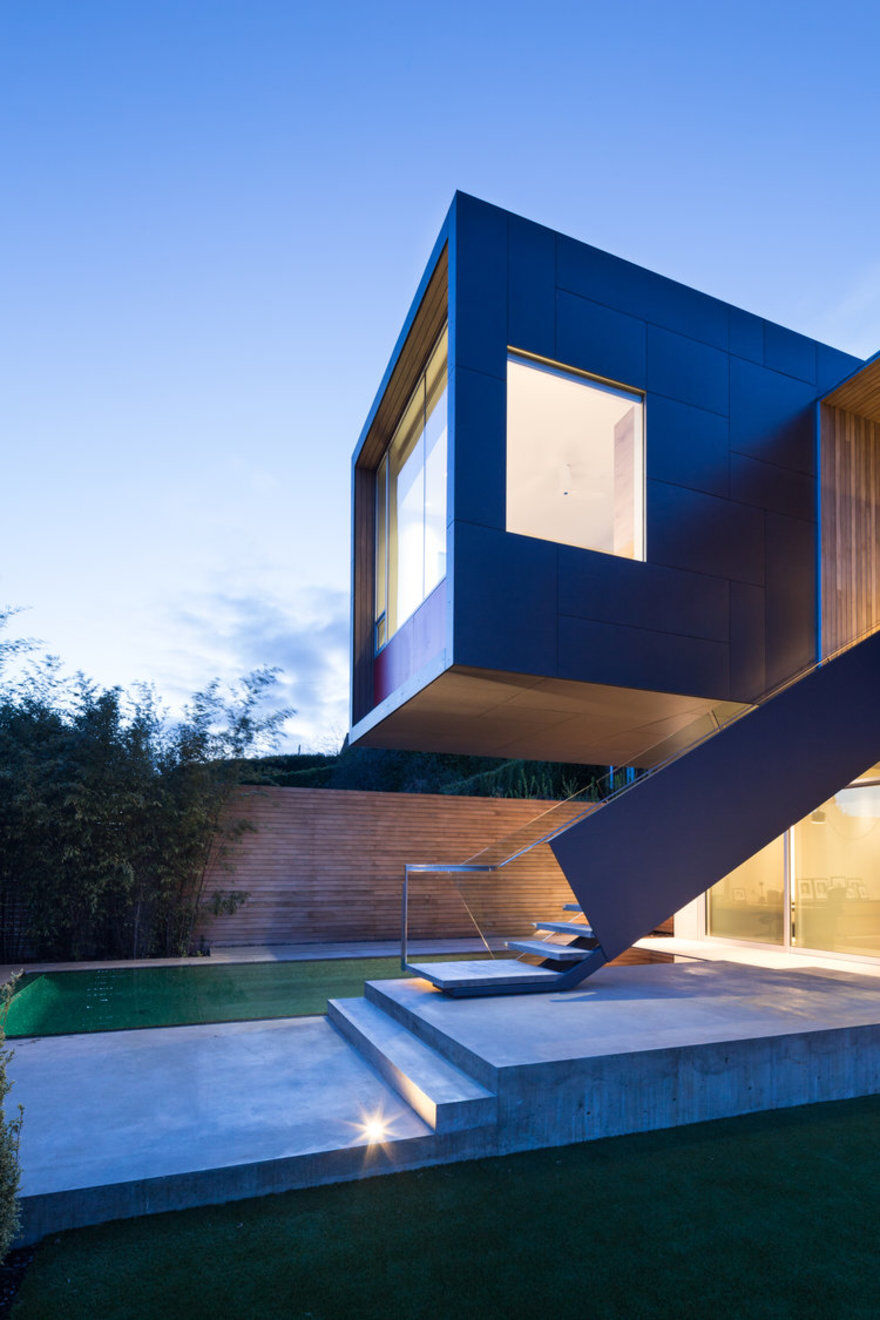 Container House In West Vancouver McLeod Bovell Modern Houses