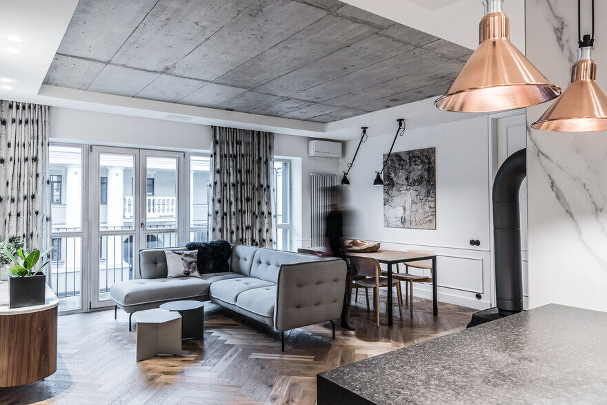 Vilnius Old Town Apartment With A Mix Of Modern, Vintage