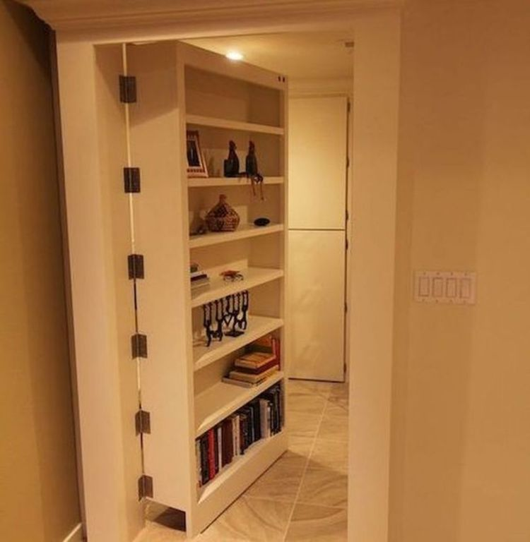 Cool hidden and pull out shelf storage ideas 6 (source pinterest.com)
