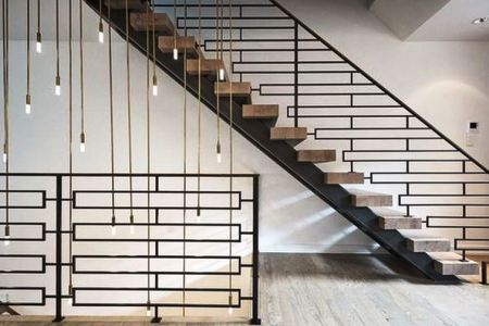 Awesome Modern and Minimalist Stairs Railing Design