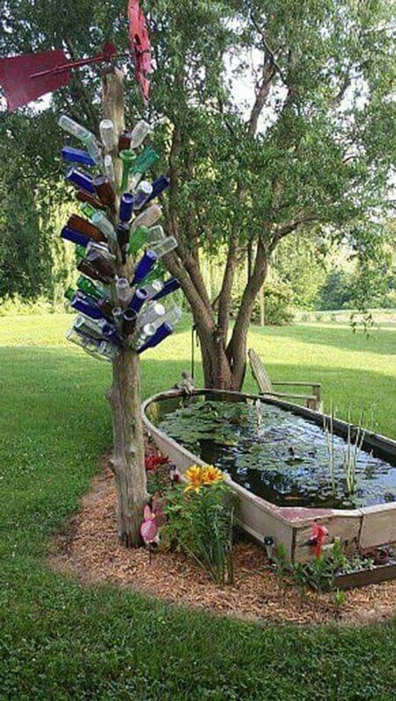 Diy recycle and upcycle for garden landscape 4 (source pinterest.com)