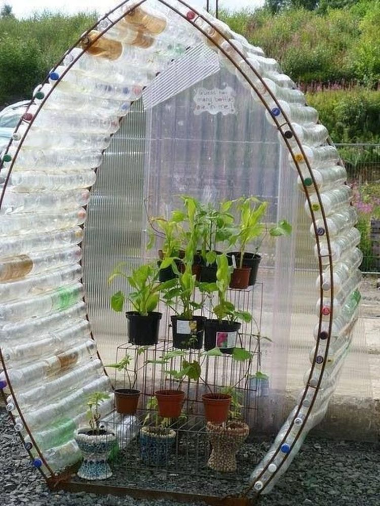 Diy recycle and upcycle for garden landscape 8 (source pinterest.com)