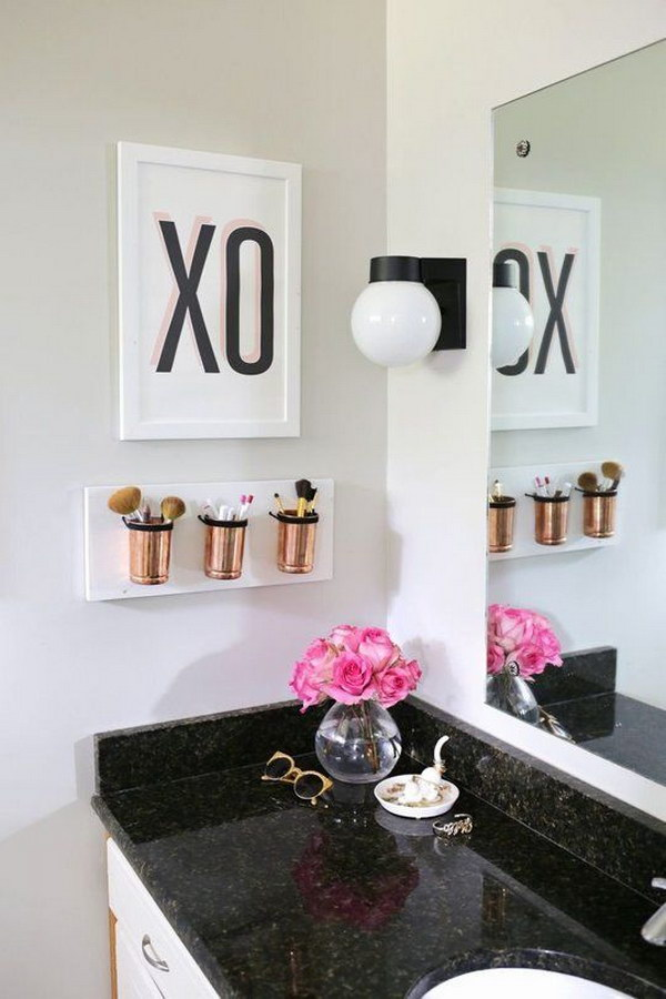 Bathroom Decor Mason Jars
