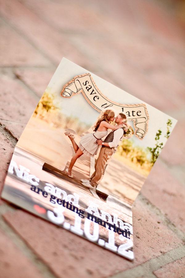 Creative Save Date Cards