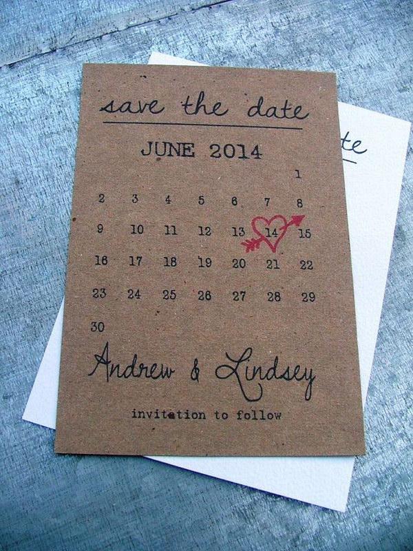 Unique Save Date Ideas