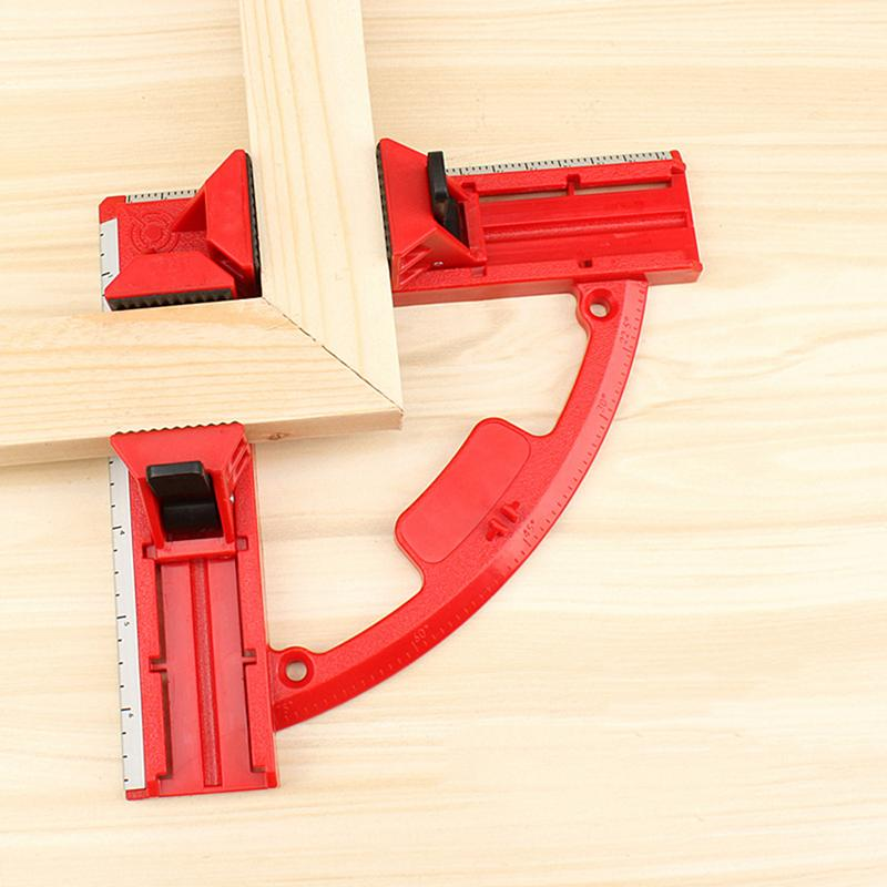 90 Degree Right Angle Clamp Mitre Clamps Corner Clamp Picture Holder  Woodwork With Light Weight Integrated Aluminum Rule|Clamps| - AliExpress