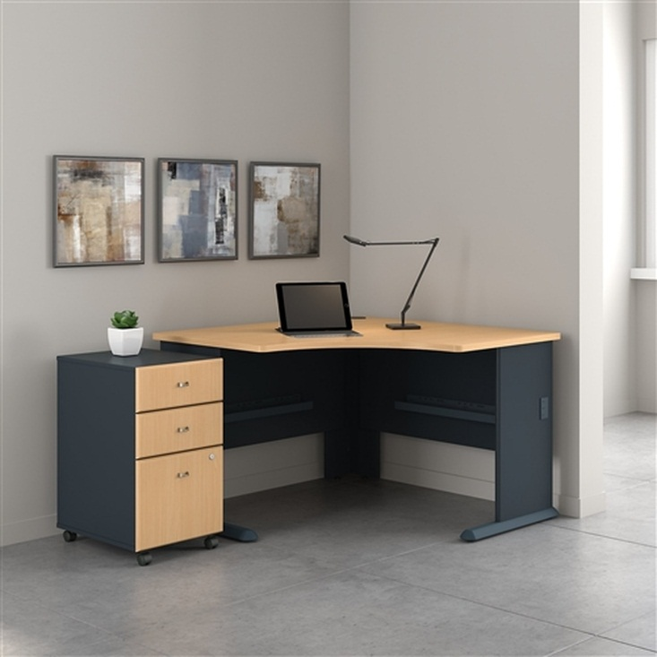 "Bush Series A 48"" Corner Desk SRA035"