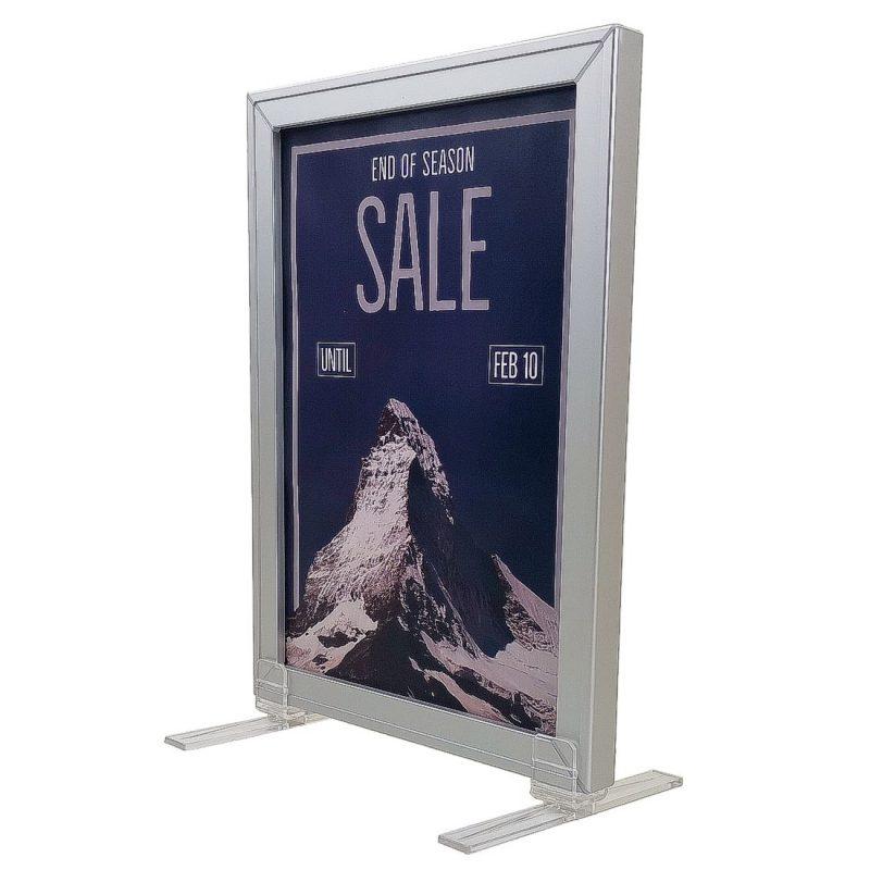 Slide in poster frames - Aluminium | Sign-Holders.co.uk