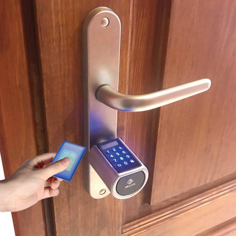 WE.LOCK Electronic Smart Lock Fingerprint Password Bluetooth lock – Welock