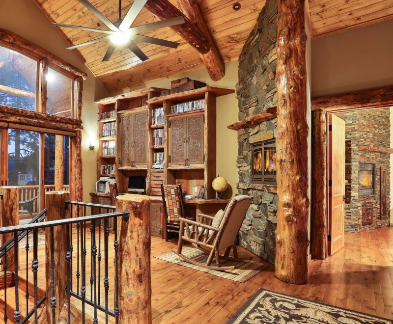 15 Motivational Rustic Home Office Designs That Will Modern Kitchen Decor,  Decoration Cuisine, Decoration… in 2020 | Rustic home offices, Rustic  house, Rustic apartment