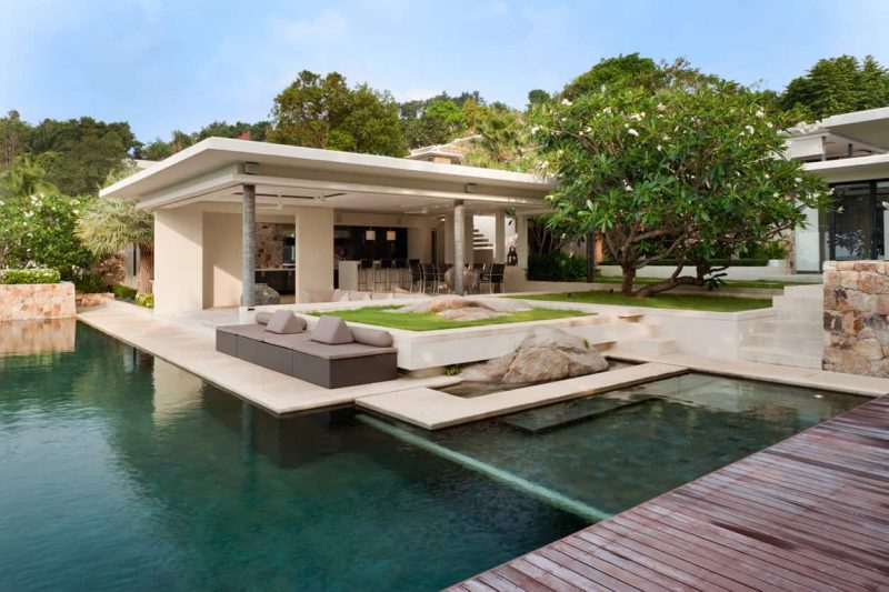 50 Swimming Pool House, Cabana and Pergola Ideas (Photos)