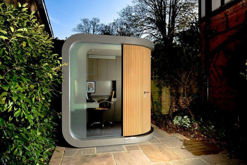 OfficePOD: The Office Space Alternative - | Backyard office, Office pods, Outdoor office
