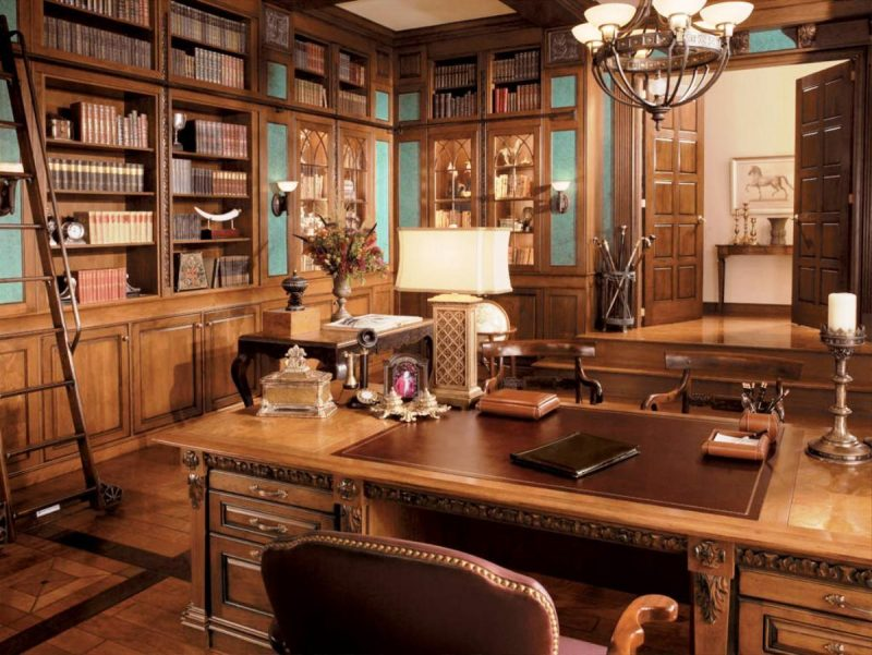 Rustic Home Office Ideas Within - Decoratorist - #30735