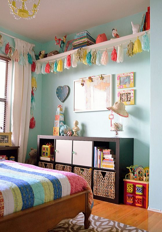 Absolutely Adore everything about this little girl's bedroom and this blog  page...will be visiting again.   Big girl bedrooms, Kid room decor,  Children room girl