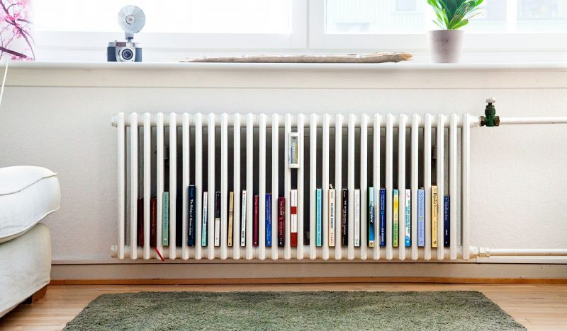 Alternative Radiator Book Case | Furniture renovation, Interior design  living room, Home accessories