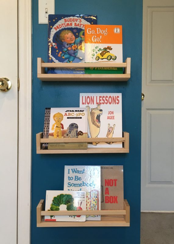 Ikea Spice Rack Bookshelf Hack   POPSUGAR Family