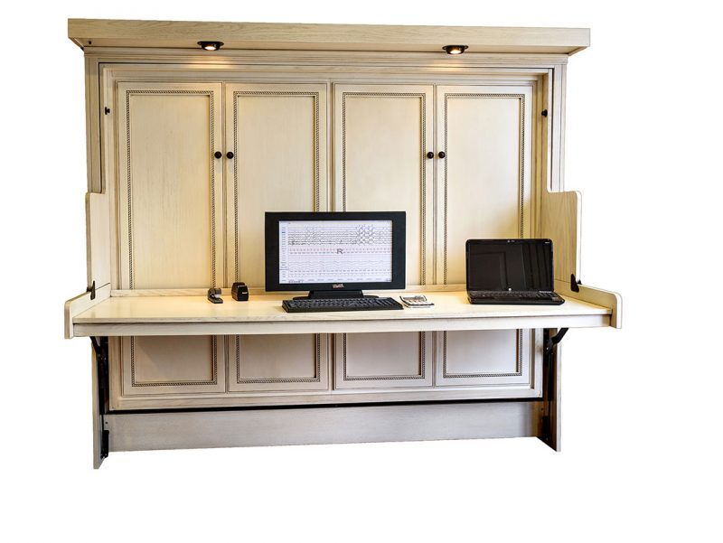 Murphy Desk Bed | Hide Away Desk Bed | Wilding Wallbeds