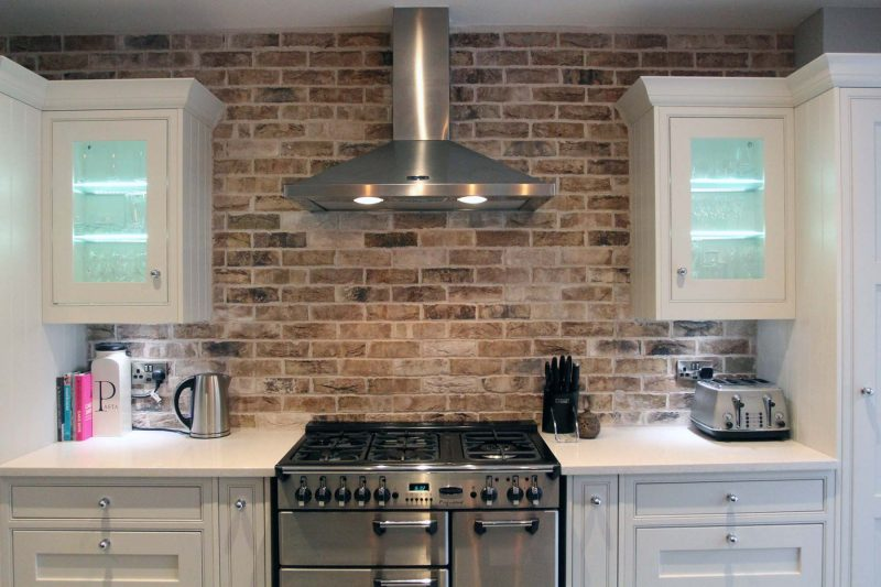 Red Brick In The Kitchen | Gambrick