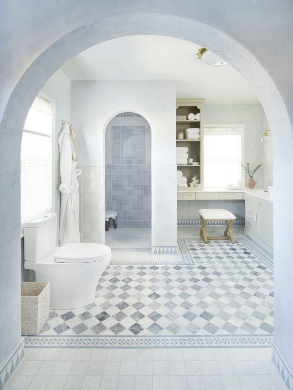 Toledo Geller Turns a Spare Room Into a Moroccan-Inspired Bathroom