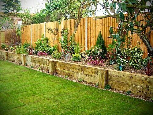 backyard side garden