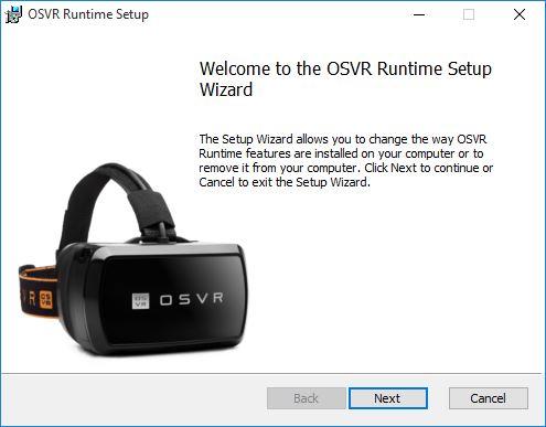 OSVR runtime