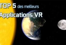 Top 5 applications VR