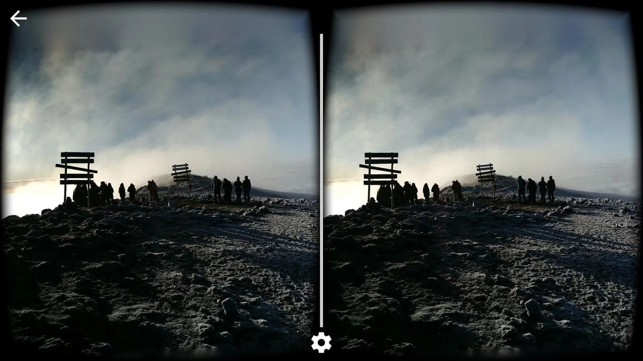 VR CenterCardboard Camera
