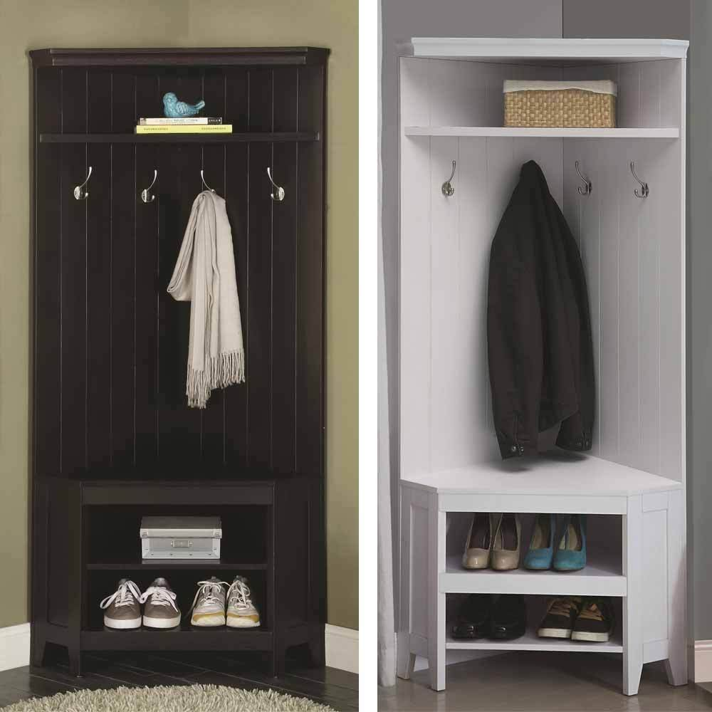 coat rack with storage homifind