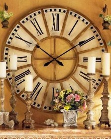 Amazing Ancient Clock At Llivingroom 17