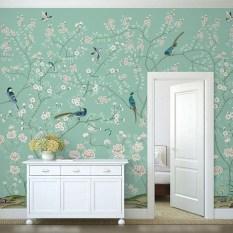 Amazing Painting Wallpaper On Livingroom 01
