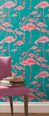 Amazing Painting Wallpaper On Livingroom 40