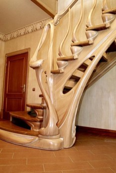 Amazing Wooden Stairs For Your Home 23