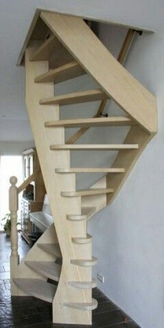 Amazing Wooden Stairs For Your Home 27