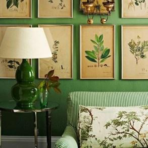 Cozy Green Livingroom Ideas 04