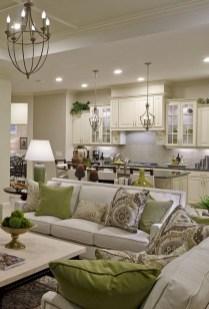 Cozy Green Livingroom Ideas 11