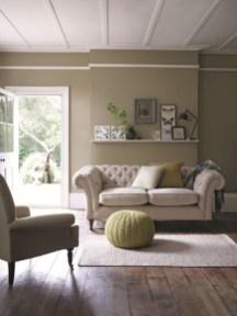 Cozy Green Livingroom Ideas 37